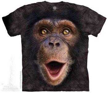koszulka THE MOUNTAIN - HAPPY CHIMP, barwiona