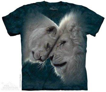 koszulka THE MOUNTAIN - WHITE LIONS LOVE, barwiona