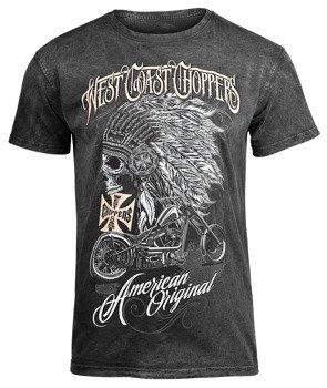 koszulka WEST COAST CHOPPERS - CHIEF, barwiona