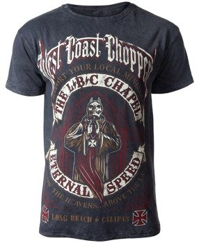 koszulka WEST COAST CHOPPERS - THE CHAPEL anthracite