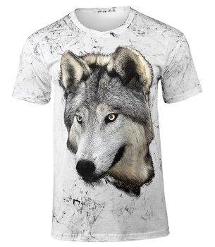 koszulka WILK 1 biała barwiona