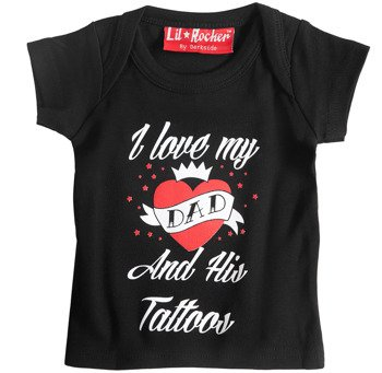 koszulka niemowlęca DARKSIDE - I LOVE MY DAD AND HIS TATTOOS