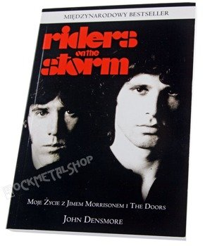 książka RIDERS ON THE STORM - MOJE ŻYCIE Z JIMEM MORRISONEM I THE DOORS