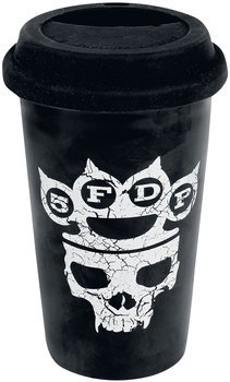 kubek FIVE FINGER DEATH PUNCH - CONTROL WITH, ceramiczny bez ucha