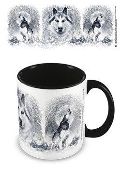 kubek SPIRAL - WHITE WOLF