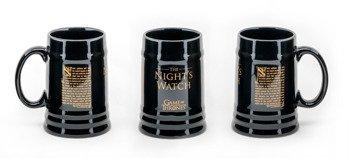 kubek/kufel GAME OF THRONES - NIGHT'S WATCH, duży 500 ml