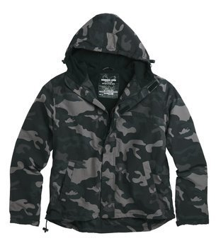 kurtka WINDBREAKER ZIPPER BLACKCAMO, wiatrówka