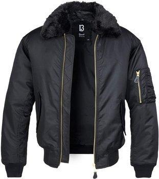 kurtka flyers MA2 JACKET FUR COLLAR black
