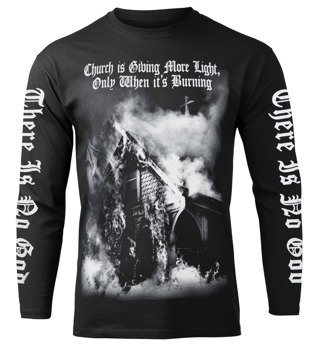 longsleeve AMENOMEN - CHURCH IS GIVING MORE LIGHT, ONLY WHEN IT'S BURNING (OMEN140LO)