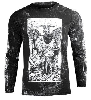 longsleeve AMENOMEN - DEVIL (OMEN094LO ALLPRINT WHITE)