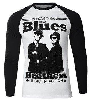 longsleeve BLUES BROTHERS - CHICAGO 1980, USZKODZONE