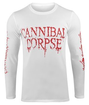 longsleeve CANNIBAL CORPSE - BUTCHERED AT BIRTH biała