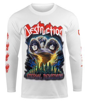 longsleeve DESTRUCTION - ETERNAL DEVASTATION white