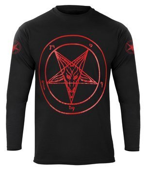 longsleeve PENTAGRAM RED