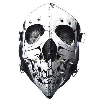 maska motocyklowa POIZEN INDUSTRIES - SKULL FACE