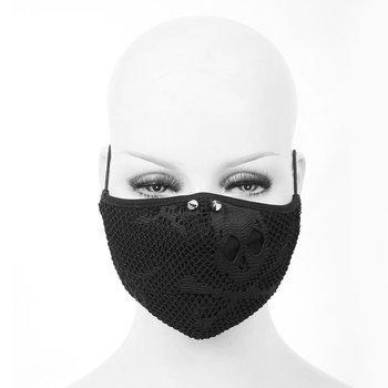 maska ochronna DEVIL FASHION SKULL, z filtrem