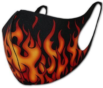 maska ochronna TRIBAL FLAMES