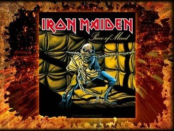 naklejka IRON MAIDEN - PIECE OF MIND