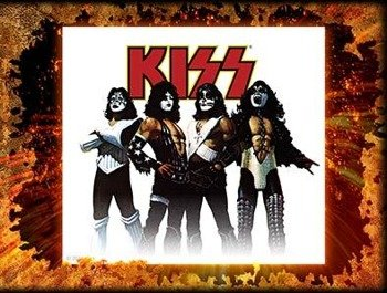 naklejka KISS - LOVE GUN