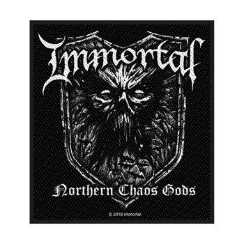 naszywka IMMORTAL - NORTHERN CHAOS GODS
