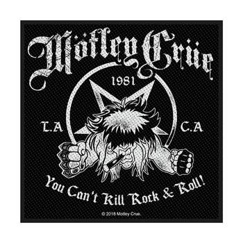 naszywka MOTLEY CRUE - YOU CAN'T KILL ROCK N ROLL