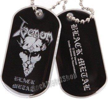 nieśmiertelnik VENOM - BLACK METAL