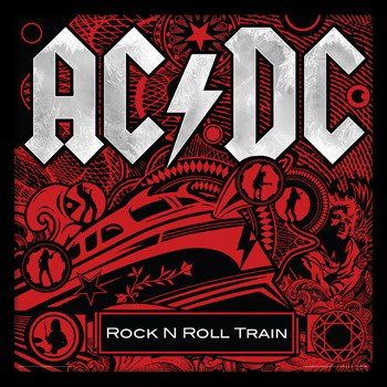 obraz w ramie AC/DC - ROCK N ROLL TRAIN