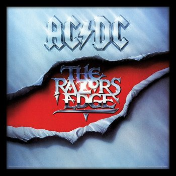 obraz w ramie AC/DC - THE RAZORS EDGE