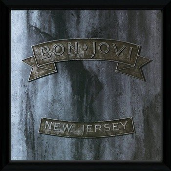 obraz w ramie BON JOVI - NEW JERSEY