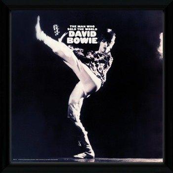 obraz w ramie DAVID BOWIE - THE MAN WHO SOLD THE WORLD
