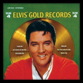 obraz w ramie ELVIS PRESLEY - GOLD RECORD