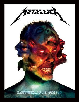obraz w ramie METALLICA - HARDWIRED ALBUM