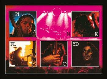 obraz w ramie PINK FLOYD - LIVE