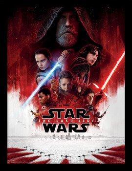 obraz w ramie STAR WARS - THE LAST JEDI