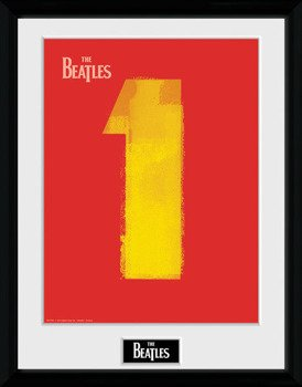 obraz w ramie THE BEATLES - No.1 RED