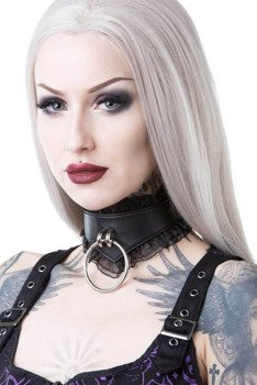 obroża KILL STAR - LUCY LACE CHOKER