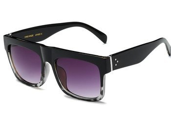 okulary KARDASHIAN BLACK WHITE