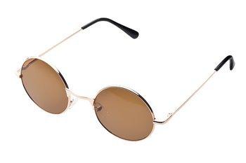 okulary LENONKI BRĄZOWE