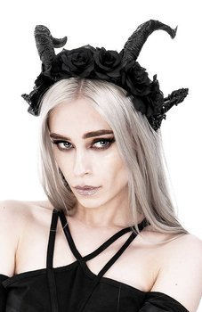 opaska do włosów DARK ELF ROSE CROWN