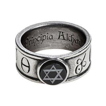 pierścień PRINCIPIA ALCHEMYSTICA