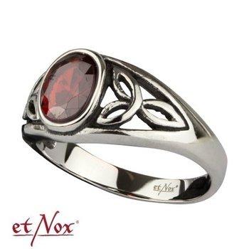 pierścionek CELTIC RED