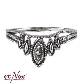 pierścionek ELFISH MARCASITE, srebro 925
