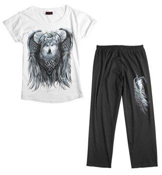 piżama SPIRAL - WOLF SPIRIT zestaw 4-częściowy