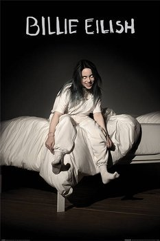 plakat BILLIE EILISH - WHEN WE ALL FALL ASLEEP WHERE DO WE GO