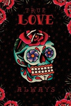 plakat CARDXCORE - TRUE LOVE ALWAYS