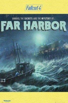 plakat FALLOUT 4 - FAR HARBOUR