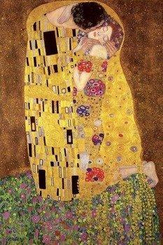 plakat GUSTAV KLIMT'S - THE KISS
