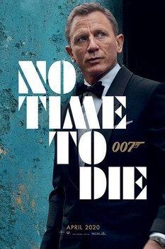 plakat JAMES BOND - NO TIME TO DIE