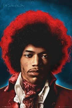 plakat JIMI HENDRIX - BOTH SIDES OF THE SKY
