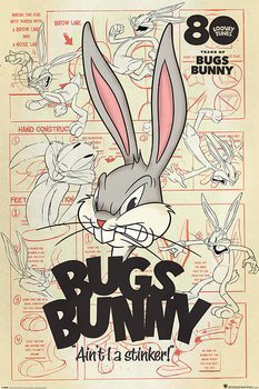plakat LOONEY TUNES - BUGS BUNNY